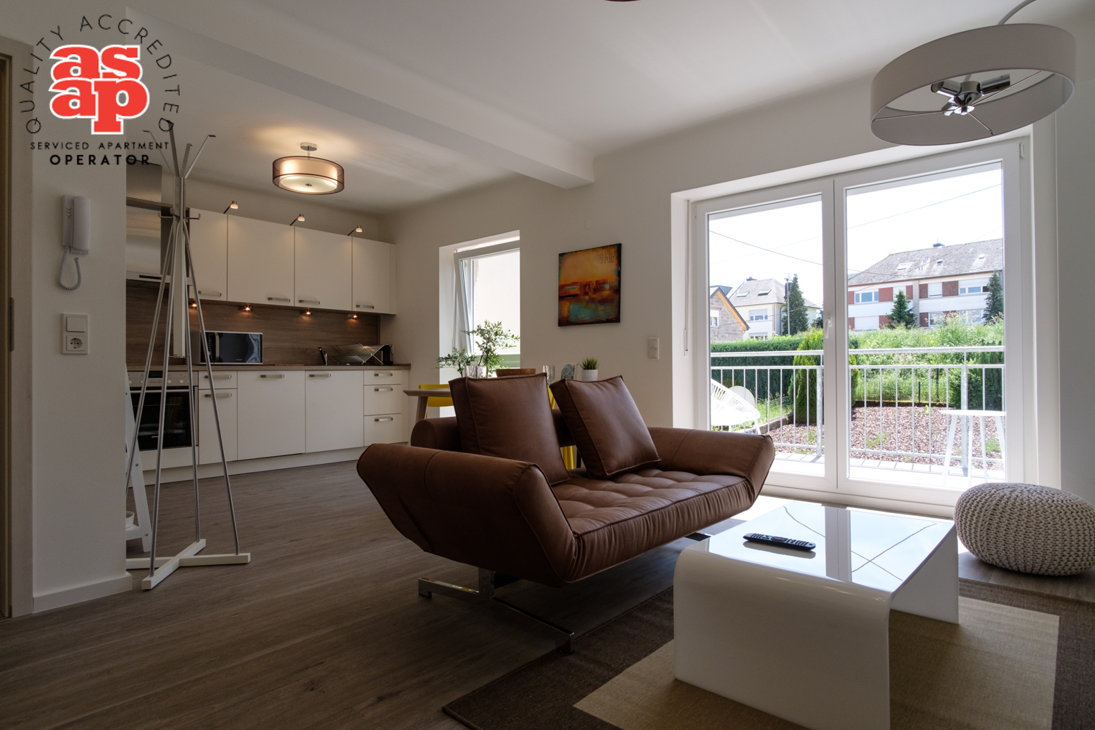 Image of a Dwellworks serviced apartment in Luxembourg